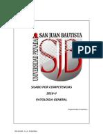 SILABO PATOLOGIA GENERAL 2016-II.pdf