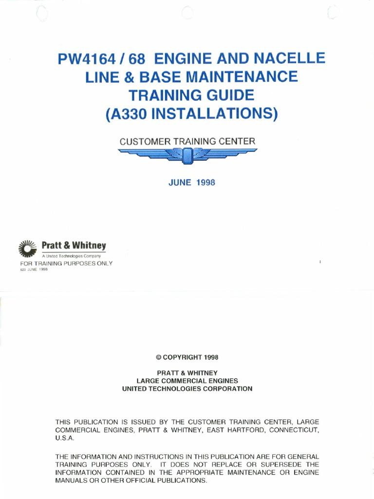 pw4168 turbine mechanical engineering rh es scribd com PW4000 vs PW6000 JT9D