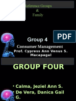 CM Group Four - Group Reference and Family Report