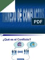 Manejo de Conflictos, Kenny Arias