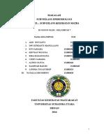 Kelompok 7 Makalah Surveilans Epidemiologi Kesehatan Matra.docx..