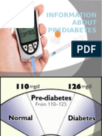 Information About Prediabetes