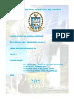 Universidad Nacional Tecnológica Del Cono Sur Ecologia