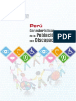 Caracteristicas de La Poblacion Con Discapacidad