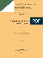 James C. VanderKam The Book of Jubilees. A Critical Text (Corpus Scriptorum Christianorum Orientalium 510  Scriptores Aethiopici 87)  .pdf