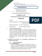 Informe Febrero CCEE Niños 1B