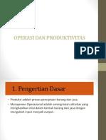 01 Operasi Dan Produktivitas