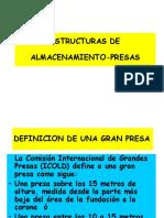 Estructuras de Almacenamiento - Presas