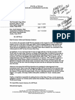 State Rep Dutton's Clemency Letter for Jeff Wood