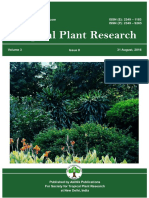 Volume 3, Issue 2 of Tropical Plant Research