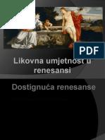Likovna Umjetnost u Renesansi