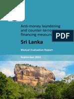 Sri Lanka MER 2015 Published