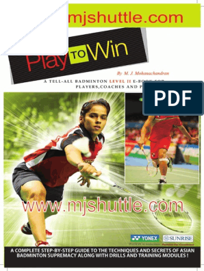Play To Win Level2 Pdf Racquet Sports Sports