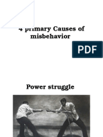 Primary Causes of Misbehavior