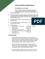 Requisitos de Entrega Examen Parcial