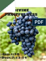 Divine Fruitfulness 4