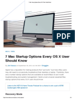 7 Mac Startup Options Every OS X User Should Know