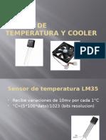 Sensor de Temperatura y Cooler