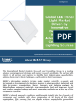LED Panel Light Market - Global Industry Analysis, Trends, Plant Setup & Opportunities