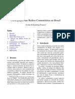 Peruzzo Cicilia Radio Comunitaria Br