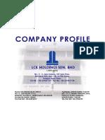 Lck Holdings Profile