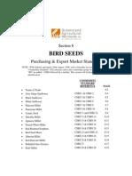 Section 6 - Bird Seed Standards Effective 1 December 2004