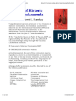 The Care of Historic Musical Instruments - Robert L. Barclay