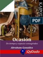 Ocasión - Abraham González Lara (2016)