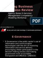 Competency Modeling for Business Process Review