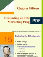 Evaluating Marketing Management