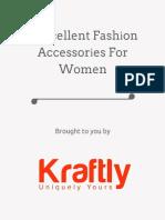 7 Excellent Fashіon Accessorіes for Women