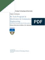 KTU Cluster 4 M.Tech ACIS