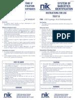 NIK Test D_Instructions