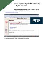 Java Software Development Kit Installation
