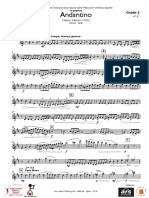 Andantino Violin 1