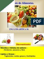 Clase 1. Analisis de Los Alimentos