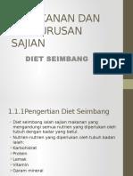 Pemakanan Dan Pengurusan Sajian Tingkatan Satu