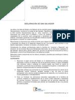 Acuerdos de La Cumbre Presidencial 2008
