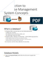 Introduction to Database Management System Concepts