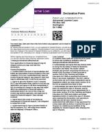 Online Declaration Form