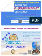 Photo and Logo Contests 2016