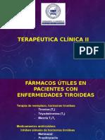 2 Terapeutica Clinica -Tiroides.ppt 2015