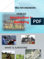 1. Introduction to Surveying