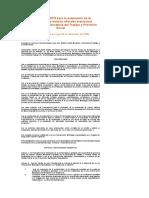 PROCEDIMIENTO Para La Evaluación de La Conformidad de Normas Oficiales Mexicanas Expedidas Por La Secretaría Del Trabajo y Previsión Social