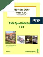 Tsd Fwdusersgroup2012