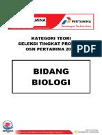 Soal MC Biologi
