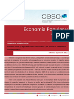 Investigacion Econ Social y Seguridad Democratica - Agosto 2015