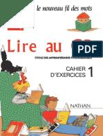 Lire Au Cp Cahier D'exercices 1 Nathan.pdf