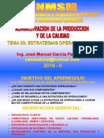 2016 II - Apc - Clase Nº 03 - Estrategia de Operaciones (1)
