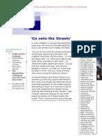 Street Pastors Prayer Letter